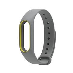 お買い得  メンズ腕時計-ゴム 時計バンド ストラップ ブラック グレー ネービー 25センチメートル/ 9.84インチ 1cm / 0.39 Inch