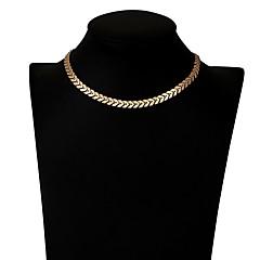 preiswerte Halsketten-Damen Halsketten - Grundlegend Gold Modische Halsketten Schmuck Für Alltag, Büro & Karriere