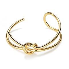 Жен. Браслет разомкнутое кольцо европейский Мода Сплав Бижутерия Назначение Повседневные Свидание