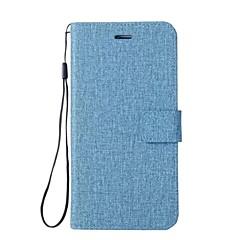 Capinha Para Motorola Z2 play G5 Plus G5 E4 Plus C plus C Carteira Porta-Cartão Com Suporte Flip Corpo Inteiro Côr Sólida Outro Rígida