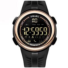 Homens Crianças Relógio Casual Relógio de Moda Relogio digital Chinês Digital Calendário Cronógrafo Luminoso Podômetro Silicone Banda