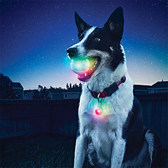 Dog Dog Toy Pet Toys Interactive LED Lighting silicone For Pets