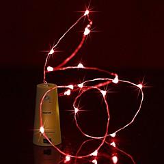brelong 1m 10led vinflaske kobber streng lys til jul bryllup fest dekorationer