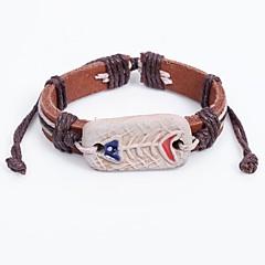 preiswerte Armbänder-Herrn Armband Böhmische China Leder Kreisform Schmuck Normal Ausgehen