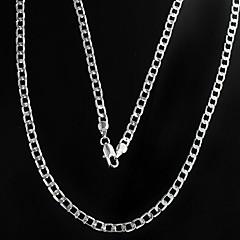 Недорогие Ожерелья-Муж. Ожерелья-цепочки Сплав бижутерия Бижутерия Назначение Повседневные Новогодние подарки