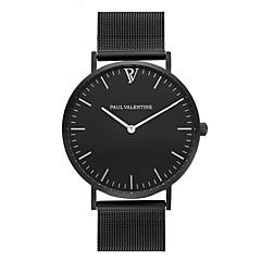 preiswerte Damenuhren-Damen Armbanduhr Chinesisch Chronograph Edelstahl Band Freizeit / Elegant / Modisch Schwarz / Silber / Rotgold