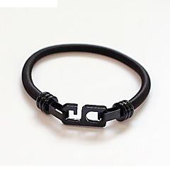 preiswerte Armbänder-Herrn / Damen Armband - Armbänder Schwarz / Silber Für Alltag / Normal / Ausgehen