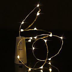 preiswerte LED Lichtstreifen-BRELONG® 0,5 m Leuchtgirlanden 5 LEDs Warmes Weiß / Weiß / Blau Wasserfest <5 V 1pc