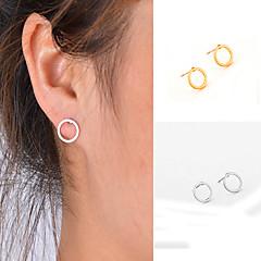 preiswerte Ohrringe-Damen Ohrstecker - Personalisiert, Geometrisch, Modisch Gold / Silbern Für Alltag Normal