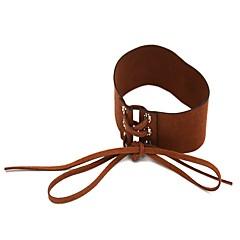お買い得  ネックレス-女性用 チョーカー  -  シンプル ファッション ライン ブラック Brown ネックレス 用途 日常
