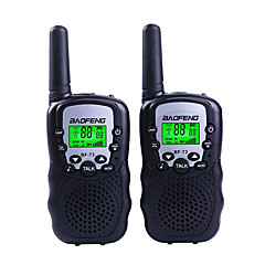abordables Walkie Talkies-BAOFENG T3 Portátil 1'5KM-3KM 1'5KM-3KM Walkie talkie Radio de dos vías / 2.5