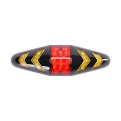 abordables Luces para bicicleta-Luz Trasera para Bicicleta / luces de seguridad / Luz Trasera LED - Ciclismo Con Batería, Control remoto AAA 100 lm 2 Baterías AAA Multicolor Ciclismo