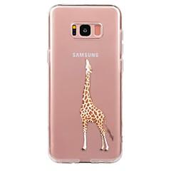 billige Galaxy S4 Mini Etuier-Etui Til Samsung Galaxy S8 Plus S8 Ultratyndt Transparent Mønster Bagcover Dyr Blødt TPU for S8 Plus S8 S7 edge S7 S6 edge plus S6 edge