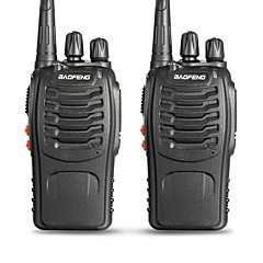 voordelige Alarm & Beveiliging-BAOFENG 2 Pcs BF-888S Walkie-talkie Draagbaar Waarschuwing Laag Batterijniveau Programmeerbaar via pc-software Spraakverzoek VOX Time-out