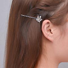 유럽과 미국의 사계절 조카 조수 밴 유로 머리 핀 머리 장식 여성 a0319-0320 금속 꽃 가장자리의 대외 무역