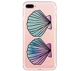 abordables Ofertas Semanales Para Accesorios Apple-Funda Para Apple iPhone X iPhone 8 Plus Diseños Funda Trasera Caricatura Suave TPU para iPhone X iPhone 8 Plus iPhone 8 iPhone 7 Plus