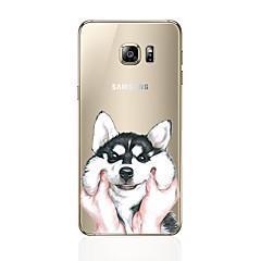 billige Galaxy S6 Etuier-Etui Til Samsung Galaxy S8 Plus S8 Mønster Bagcover Hund Blødt TPU for S8 Plus S8 S7 edge S7 S6 edge plus S6 edge S6