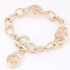 cheap Bracelets-Women's Cool Charm Bracelet Bracelet - Simple Fashion Geometric Gold Silver Bracelet For Daily Going out