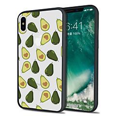 Недорогие Кейсы для iPhone 5-Кейс для Назначение Apple iPhone X iPhone 8 Plus С узором Кейс на заднюю панель Фрукты Мягкий ТПУ для iPhone X iPhone 8 Pluss iPhone 8
