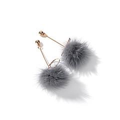 Dames Oorknopjes Druppel oorbellen , Koreaans Modieus Veer Legering Bal Sieraden AvondFeest Uitgaan
