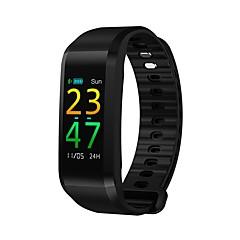 billige Elegante ure-Smart armbånd Pulsmåler Skridttællere Træningslog Blodtryksmåling Samtalepåmindelse Skridtæller Sleeptracker Find min enhed Vækkeur