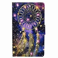 Dream Catcher Pattern Card Holder with Stand Magnetic PU Leather Case for Samsung Galaxy Tab A 8.0 (2017) T380 T385 8.0 inch Tablet