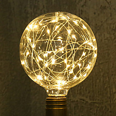 tanie Żarówki LED-1 sztuk e27 g95 gwiazda światła 3 w żarówka led żarówka string światła dekoracyjne wakacje światła ac85-265v