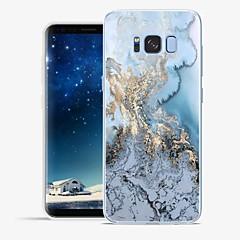 voordelige Galaxy S6 Edge Hoesjes / covers-hoesje Voor Samsung Galaxy S8 Plus S8 Patroon Achterkant Lijnen / golven Marmer Zacht TPU voor S8 Plus S8 S7 edge S7 S6 edge plus S6 edge