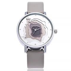 preiswerte Tolle Angebote auf Uhren-Damen Armbanduhr Chinesisch Großes Ziffernblatt Leder Band Freizeit / Modisch / Minimalistisch Schwarz / Weiß / Blau / Ein Jahr / SSUO CR2025