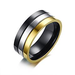 رخيصةأون -للرجال خواتم حزام , بسيط كاجوال موضة الفولاذ المقاوم للصدأ Circle Shape مجوهرات يوميا رسمي