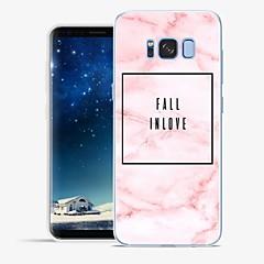 Χαμηλού Κόστους Galaxy S6 Θήκες / Καλύμματα-tok Για Samsung Galaxy S8 Plus S8 Με σχέδια Πίσω Κάλυμμα Λέξη / Φράση Μάρμαρο Μαλακή TPU για S8 Plus S8 S7 edge S7 S6 edge plus S6 edge S6
