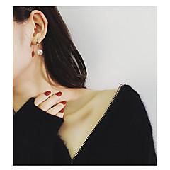 preiswerte Ohrringe-Damen Lang Tropfen-Ohrringe - Künstliche Perle Stern Koreanisch, Modisch Gold Für Alltag / Ausgehen