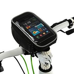 ROSWHEEL Mobiltelefonetui Taske til cykelstyret 5 Tommer Multifunktionel Touch Screen Cykling for Samsung Galaxy S6 LG G3 iPhone 5/5S