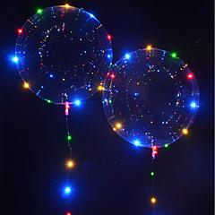 abordables Juguetes con Iluminación-Iluminación LED Globo LED Vacaciones Cumpleaños Fosforescente Nuevo diseño Niños Adulto Juguet Regalo 1 pcs