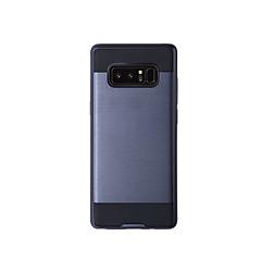 Недорогие Чехлы и кейсы для Galaxy Note 5-Кейс для Назначение SSamsung Galaxy Note 8 / Note 5 Защита от удара Чехол Однотонный Твердый ТПУ для Note 8 / Note 5 / Note 4