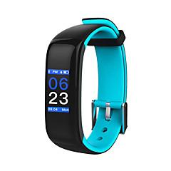 billige Elegante ure-hhy nye smart bluetooth armbånd p1 plus hjertefrekvens blodtryk søvn overvågning sport armbånd android ios farverige screenhhy nye smart