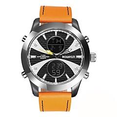 Homens Crianças Relógio de Moda Relógio Elegante Relógio de Pulso Japanês Quartzo Calendário Cronógrafo Impermeável Relógio Casual Dois