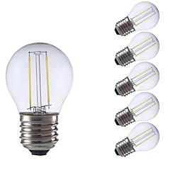 preiswerte LED-Birnen-GMY® 6pcs 2W 250/200lm E27 LED Glühlampen P45 2 LED-Perlen COB LED-Lampe Warmes Weiß Kühles Weiß 220-240V