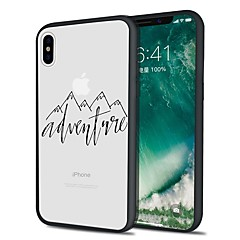 Χαμηλού Κόστους Θήκες iPhone-tok Για Apple iPhone X iPhone 8 Plus Με σχέδια Πίσω Κάλυμμα Τοπίο Μαλακή TPU για iPhone X iPhone 8 Plus iPhone 8 iPhone 7 Plus iPhone 7