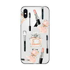 billige Etuier til iPhone 7-Etui Til Apple iPhone X iPhone 8 Plus Transparent Mønster Bagcover Sexet kvinde Blødt TPU for iPhone X iPhone 8 Plus iPhone 8 iPhone 7