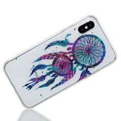 お買い得  iPhone 5S/SE ケース-ケース 用途 Apple iPhone X / iPhone 8 IMD / パターン バックカバー ドリームキャッチャー / キラキラ仕上げ ソフト TPU のために iPhone X / iPhone 8 Plus / iPhone 8