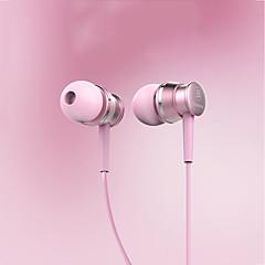 tanie Słuchawki i zestawy słuchawkowe-Słuchawki nauszne baseus el-01 wrażliwy metalowy przewód-by-wire 3,5 mm pozłacany