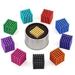 abordables Juguetes Magnéticos-216 pcs 3mm Juguetes Magnéticos Bolas magnéticas Bloques de Construcción Puzzle Cube Clásico Alivio del estrés y la ansiedad Juguete del foco Juguetes de oficina Chico Chica Juguet Regalo