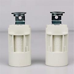 tanie Akcesoria LED-2szt E14 Złącze żarówki Podstawa lampy Metalic Plastikowy Akcesorium żarówki 70