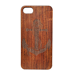 Недорогие Кейсы для iPhone 6-Кейс для Назначение Apple iPhone 6 iPhone 6 Plus Защита от удара Задняя крышка анкер Твердый Дерево для iPhone 6s Plus iPhone 6 Plus