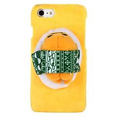 Недорогие Кейсы для iPhone-Кейс для Назначение Apple iPhone 8 iPhone 8 Plus iPhone 6 iPhone 6 Plus iPhone 7 Plus iPhone 7 болотистый Своими руками Кейс на заднюю