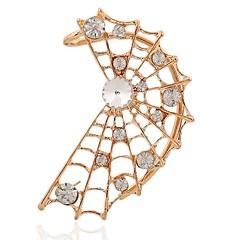 お買い得  イヤリング-女性用 耳の袖口 ラインストーン ロック 韓国語 特大の イミテーションダイヤモンド 合金 ジュエリー ストリート お出かけ