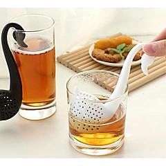 abordables Accesorios para té-1pc El plastico Colador de té Creativo Cocina creativa Gadget , 6*3*13