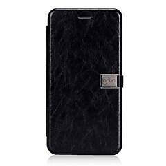 Недорогие Чехлы и кейсы для Huawei Mate-Кейс для Назначение Huawei Mate 10 lite Бумажник для карт Флип Магнитный Чехол Сплошной цвет Твердый Кожа PU для Mate 10 lite Huawei