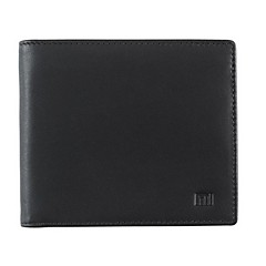 olcso -xiaomi hordozható üzlet valódi bőr bifold pénztárca - barna fekete férfi bőr bifold pénztárca